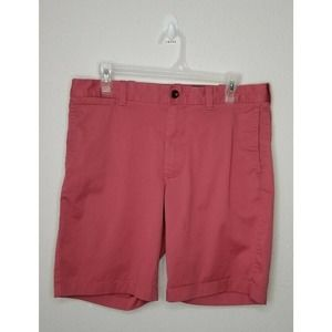 J.Crew Stretch Men Shorts Pink Size 32